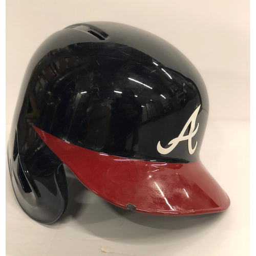 Photo of Ryan Flaherty Game-Used Postseason Batting Helmet - Worn 10/7/18 and 10/8/18 - Size 7 1/4