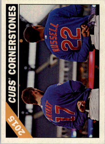 Photo of 2015 Topps Heritage Combo Cards #CC9 Kris Bryant/Addison Russell