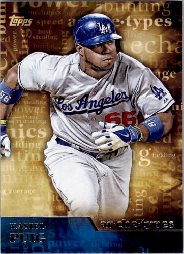 Photo of 2015 Topps Archetypes #A5 Yasiel Puig