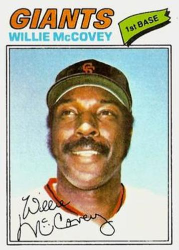 Photo of 1977 Topps #547 Willie McCovey