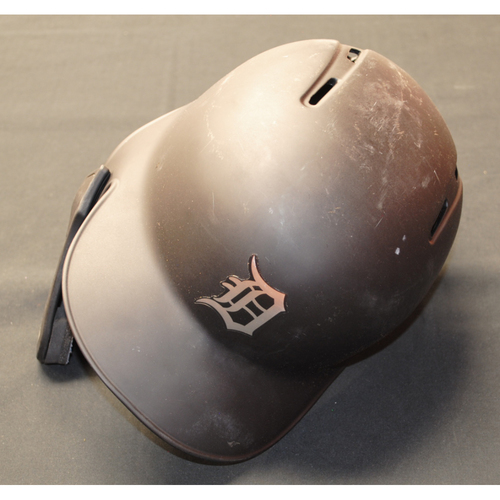 "Photo of Victor ""Vic"" Reyes Detroit Tigers Game-Used 2019 Players' Weekend Helmet (Left-Handed)"