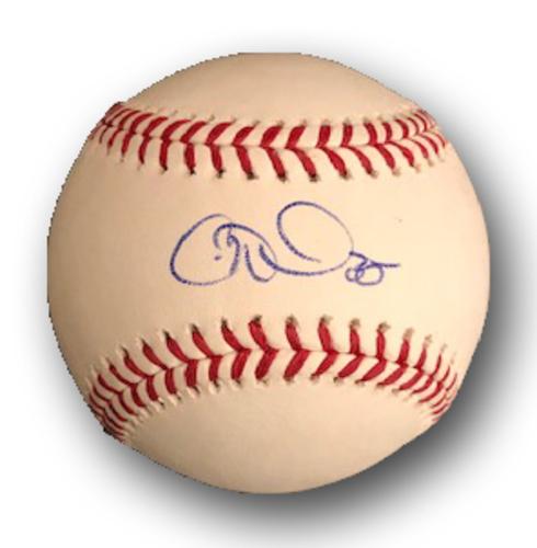 Photo of Cole Hamels Autographed Baseball