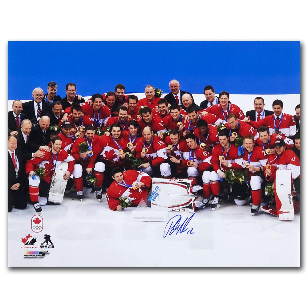 Patrick Marleau Autographed 2014 Olympics 16X20 Photo