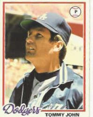 Photo of 1978 Topps #375 Tommy John
