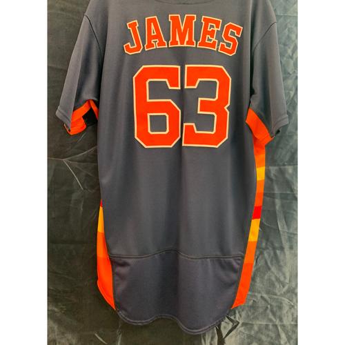 Photo of 2018 Team-Issued Josh James Navy Alt Jersey - Size 46