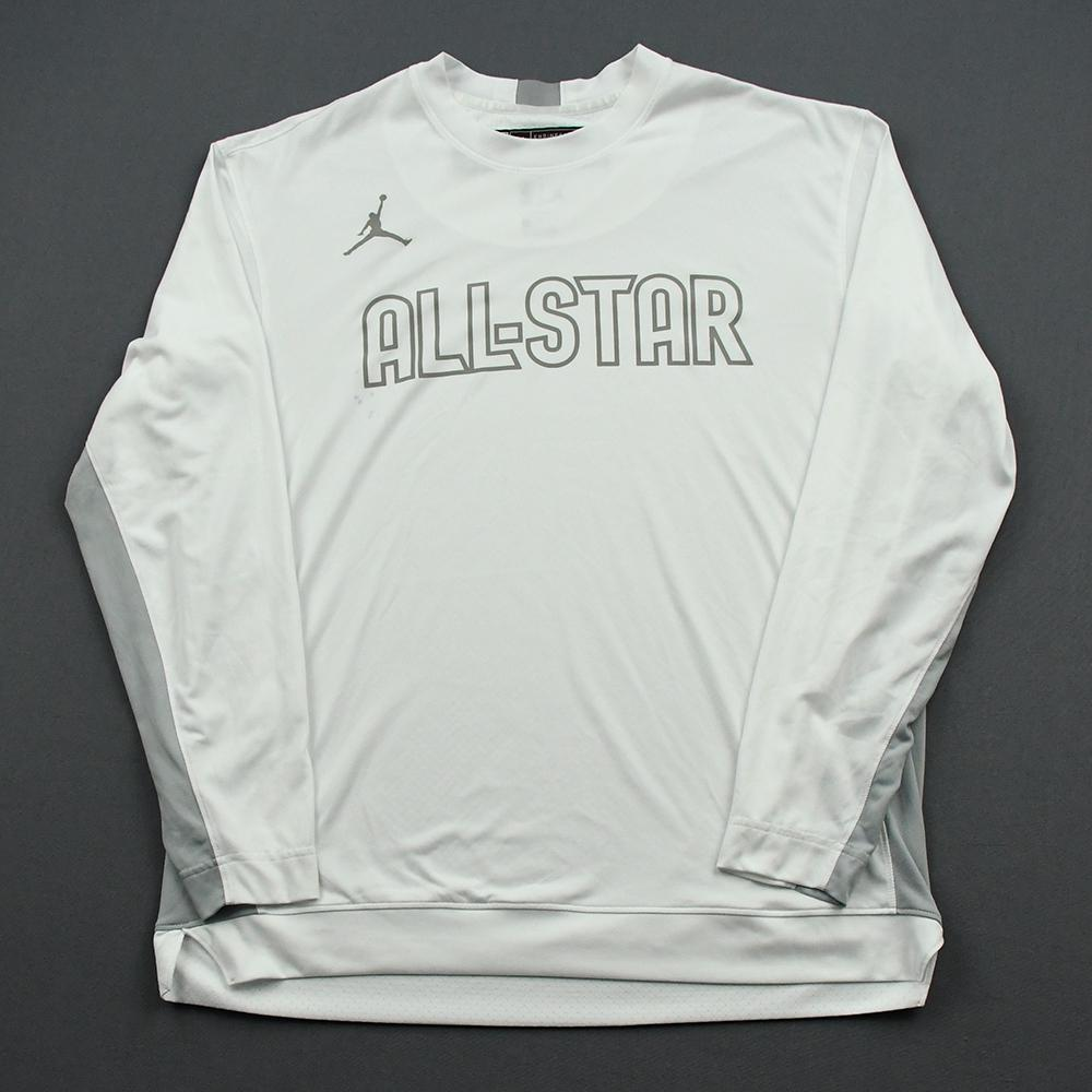 LeBron James - 2020 NBA All-Star - Team LeBron - Warm-up and Game-Worn Shooting Shirt - NBA Record 16th All-Star Game Start