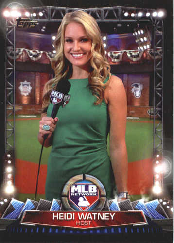 Photo of 2017 Topps MLB Network #MLBN28 Heidi Watney