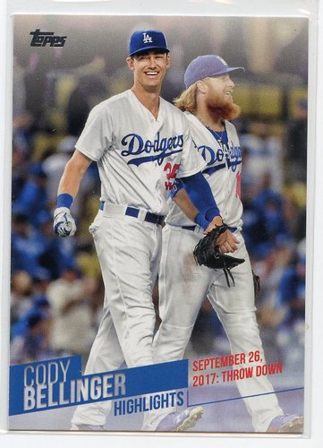 Photo of 2018 Topps Cody Bellinger Highlights #CB23 Cody Bellinger