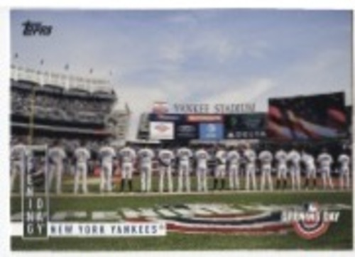 Photo of 2020 Topps Opening Day Opening Day #OD7 New York Yankees