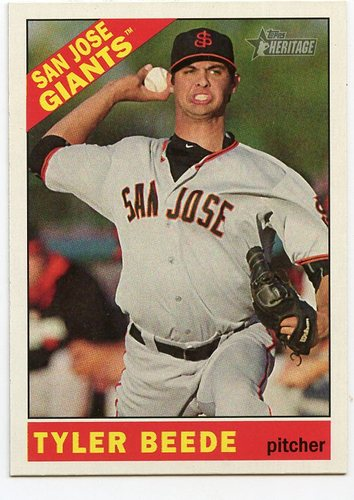 Photo of 2015 Topps Heritage Minors #207 Tyler Beede SP