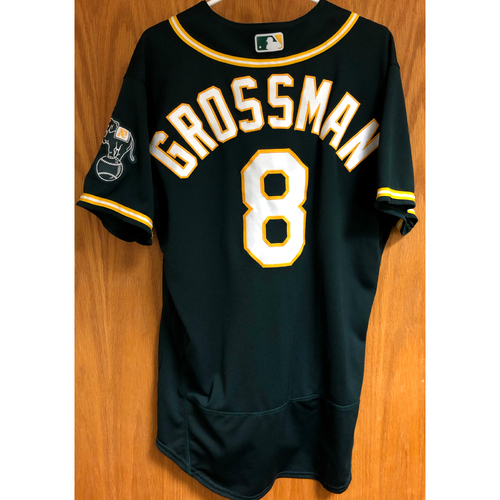 Photo of Game-Used 2020 Jersey - Robbie Grossman (7/26/20 & 10/7/20 ALDS GM 3)