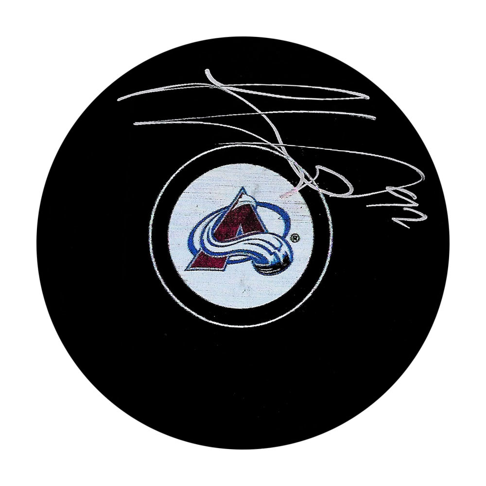 Gabriel Landeskog Autographed Colorado Avalanche Puck