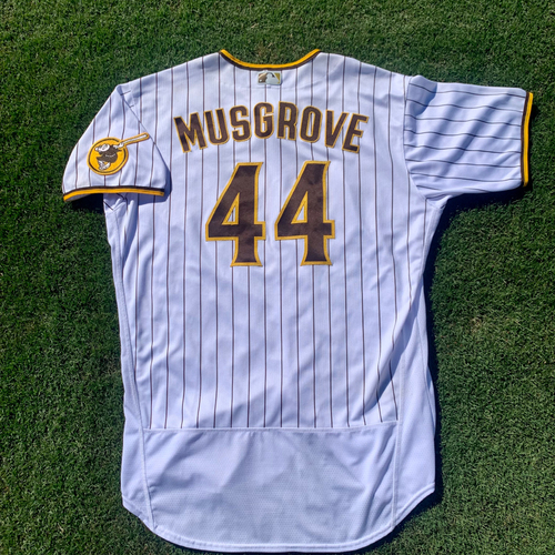 Photo of Joe Musgrove Game-Used Jersey - Worn 4 Times in 2021