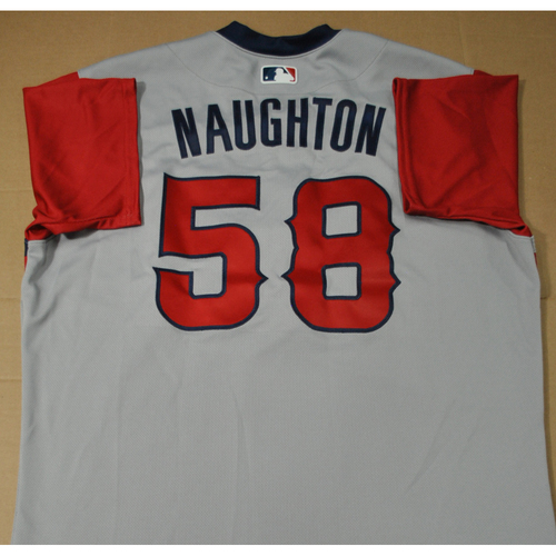 Photo of Team Issued Jersey - 2021 Little League Classic - Los Angeles Angels vs. Cleveland Indians - 8/22/2021 - West, Packy Naughton #58