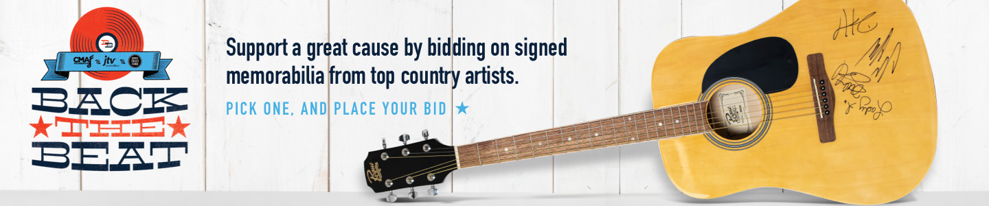 Back the Beat charity auction benefiting CMA Foundation and Opry Trust