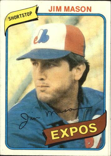 Photo of 1980 Topps #497 Jim Mason