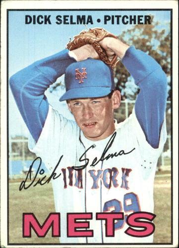Photo of 1967 Topps #386 Dick Selma DP