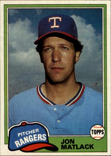 Photo of 1981 Topps #656 Jon Matlack