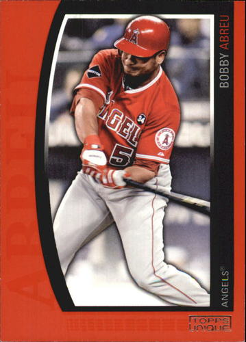 Photo of 2009 Topps Unique Red #74 Bobby Abreu