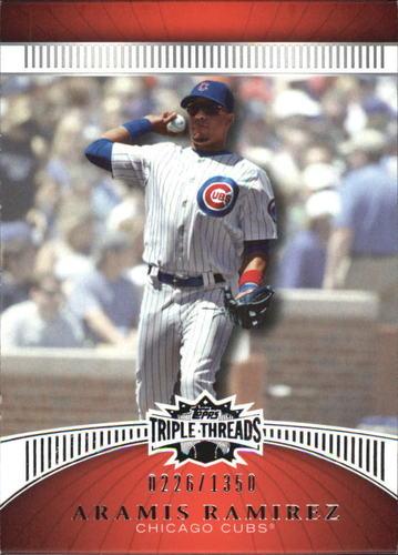 Photo of 2010 Topps Triple Threads #113 Aramis Ramirez