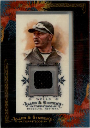 Photo of 2009 Topps Allen and Ginter Relics #VW Vernon Wells Jsy A