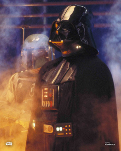 Boba Fett and Darth Vader