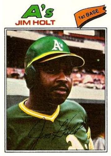 Photo of 1977 Topps #349 Jim Holt