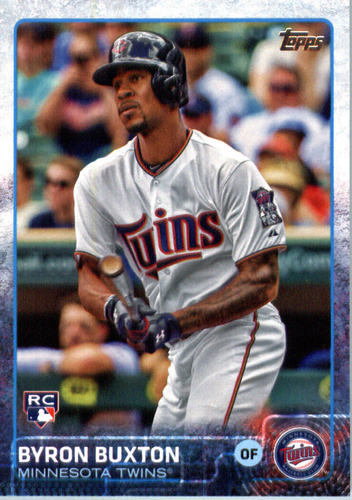 Photo of 2015 Topps Update #US25 Byron Buxton Rookie Card