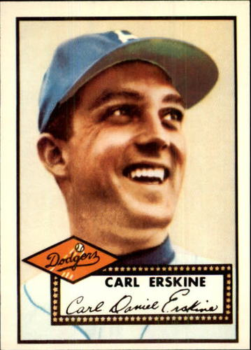 Photo of 1983 Topps 1952 Reprint #250 Carl Erskine