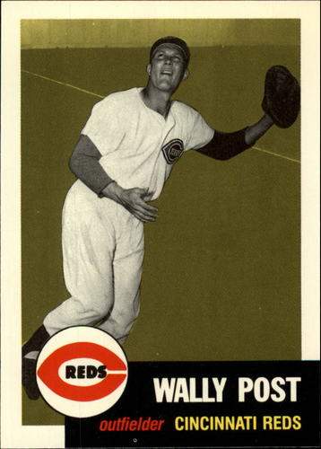Photo of 1991 Topps Archives 1953 #294 Wally Post