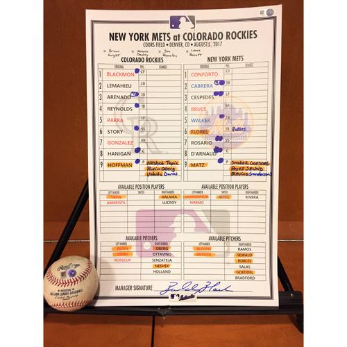 Photo of Amed Rosario MLB Debut Bundle