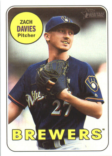 Photo of 2018 Topps Heritage #17 Zach Davies