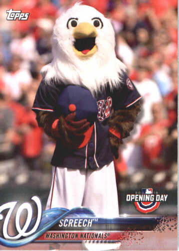 Photo of 2018 Topps Opening Day Mascots #M25 Screech