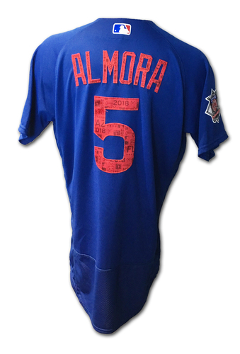 Photo of Albert Almora Jersey -- Spring Training 2018