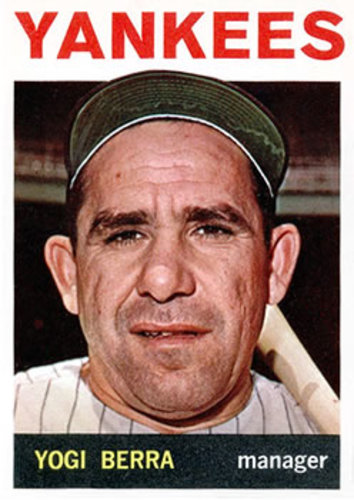 Photo of 1964 Topps #21 Yogi Berra Hall of Fame Class of 1972