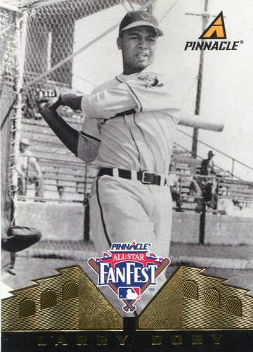 Photo of 1997 Pinnacle All-Star FanFest Promos #2 Larry Doby-- Hall of Fame Class of 1998