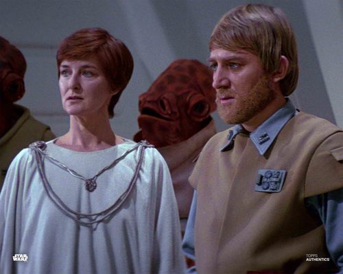 Mon Mothma and General Crix Madine