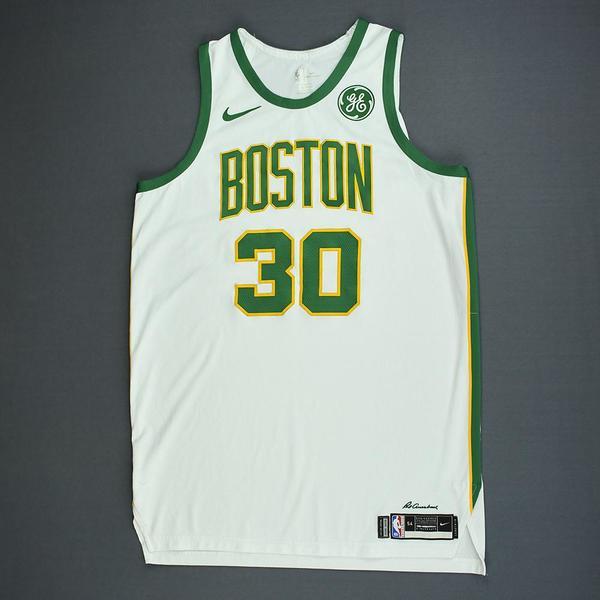 Guerschon Yabusele - Boston Celtics - Game-Worn City Edition ...