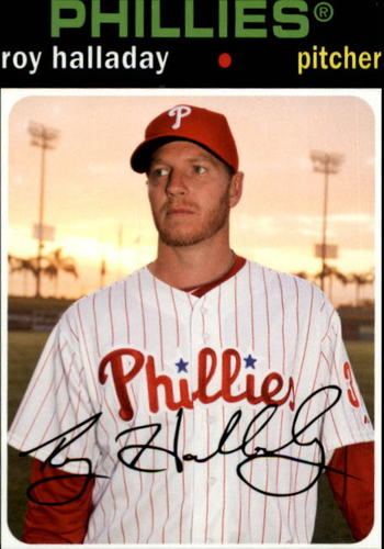 Photo of 2012 Topps Archives #51 Roy Halladay