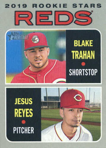 Photo of 2019 Topps Heritage #36 Blake Trahan RC/Jesus Reyes RC