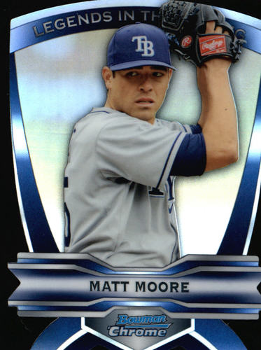 Photo of 2012 Bowman Chrome Legends In The Making Die Cuts #MM Matt Moore