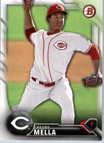 Photo of 2016 Bowman Prospects #BP118 Keury Mella