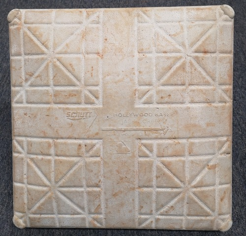 Photo of Authenticated Game Used Base - 3rd Base for Innings 6 to 9 (Sept 17, 11 vs NYY: Career Save 601 for Mariano Rivera). 2nd Base for Innings 6 to 9 (Jun 17, 12 vs PHI: Father's Day). Base has 2 Father's Day Jewels.