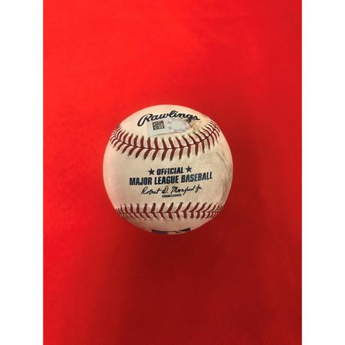 Photo of Max Scherzer 3 Strikeout Baseball
