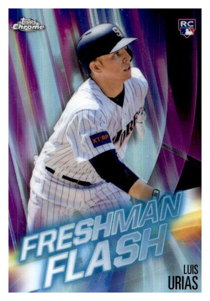 2019 Topps Chrome Freshman Flash #FF15 Luis Urias