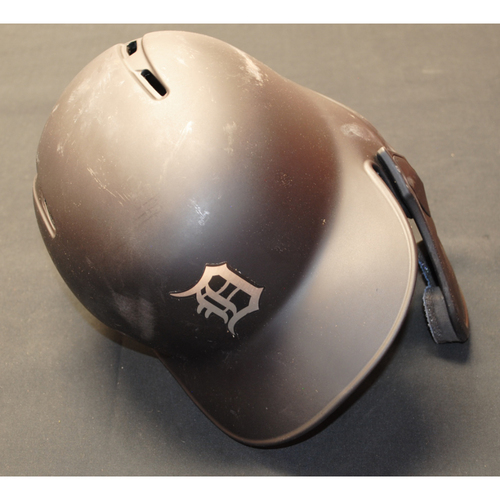 "Photo of Victor ""Vic"" Reyes Detroit Tigers Game-Used 2019 Players' Weekend Helmet (Right-Handed)"