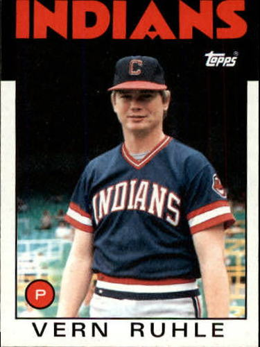 Photo of 1986 Topps #768 Vern Ruhle