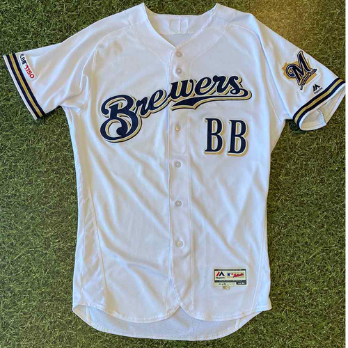 Photo of 2019 Team-Issued Jersey: Bat Boy Home White