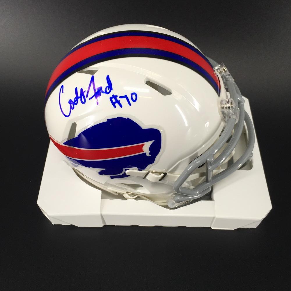 Bills - Cody Ford Signed Mini Helmet