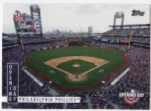 Photo of 2020 Topps Opening Day Opening Day #OD9 Philadelphia Phillies